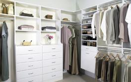 bedroom custom closets