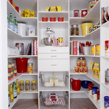 pantry shelf design